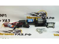 Лебедка электрическая 12V Electric Winch 3500lbs / 1587 кг стальной трос