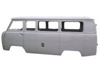 Каркас кузова (микроавтобус) карб/инж под щиток с/о, крепление н/о защитный