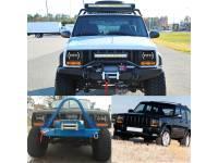 Светодиодные фары 7х6 головного света S54 55W для Jeep Wrangler YJ, Jeep Cherokee XJ, Toyota Pickup (комплект 2 шт.)