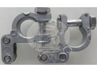 Клемма АКБ12/24V свинцовая угловая (комплект)