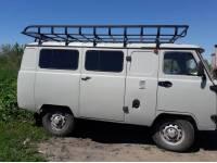 Багажник Басмач на УАЗ 452